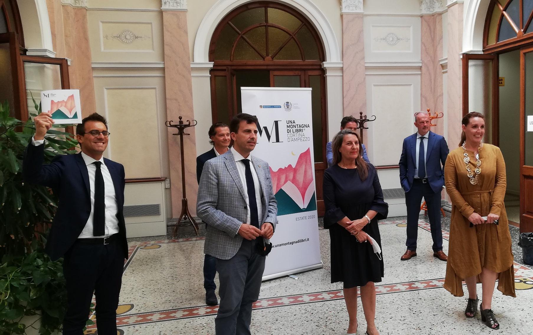 Presentato il Festival letterario di Cortina