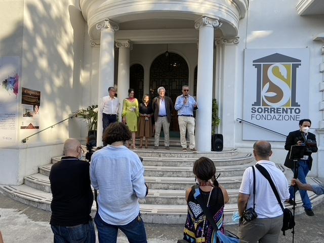 Inaugurato a Villa Fiorentino il SyArt Sorrento Festival 2020