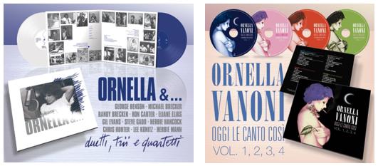 Ornella Vanoni in due collezioni imperdibili
