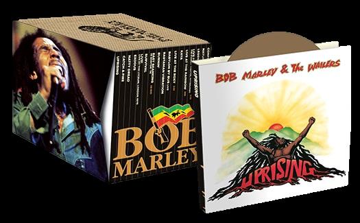 In una sola collezione i 17 cd di Bob Marley