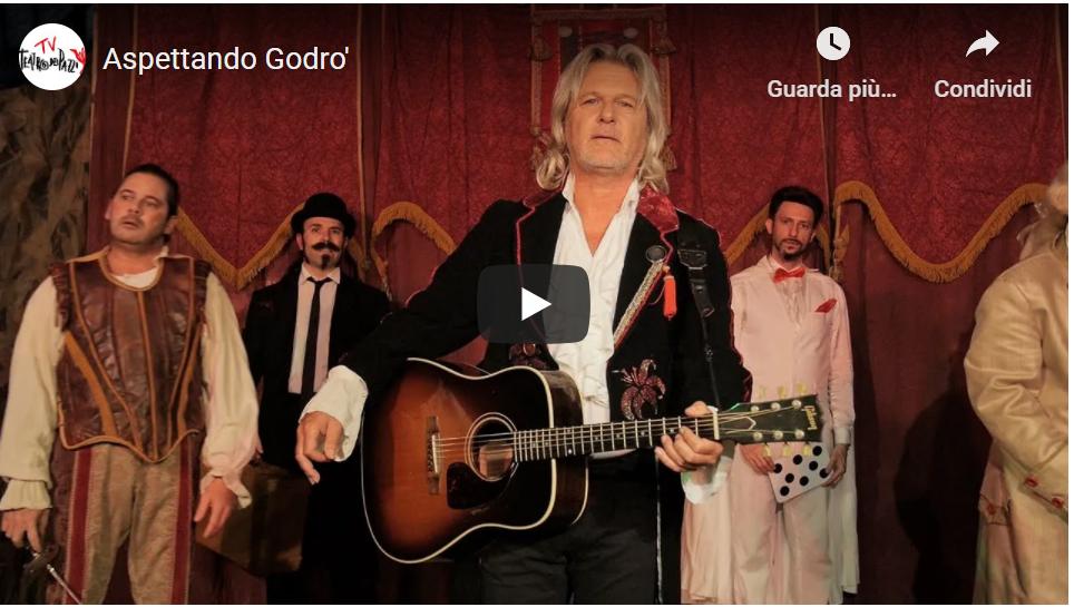 Giovanni Giusto, nuovo videoclip nel teatro comunale di Treviso
