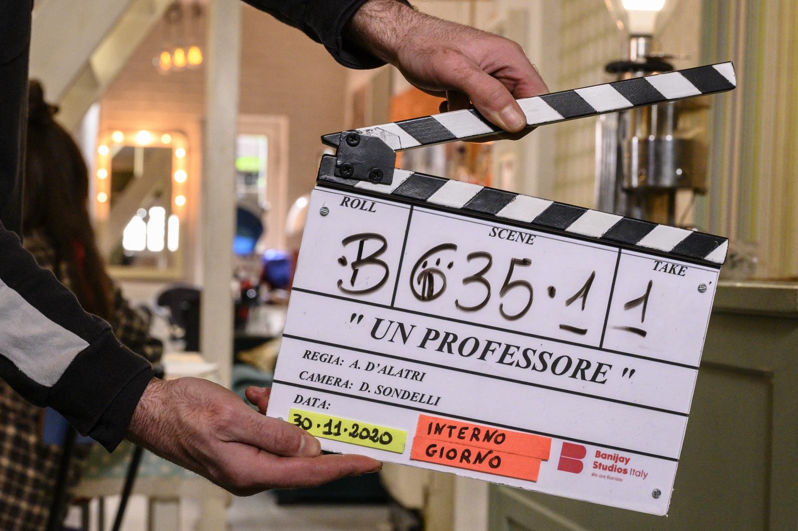 """RAI1, """"Un professore"""": Al via le riprese con Alessandro Gassmann e Claudia Pandolfi"""