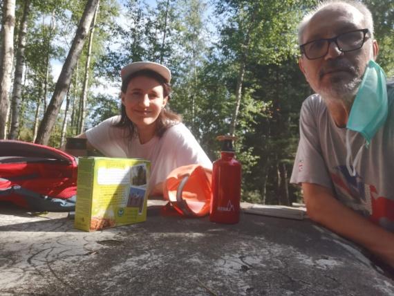 Napoli-Londra, staffetta a distanza padre-figlia per battere il Parkinson